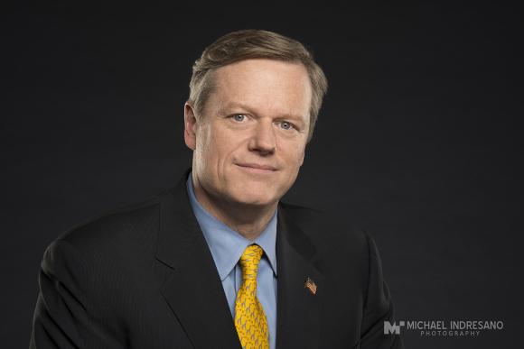 Governor Charlie Baker Portrait