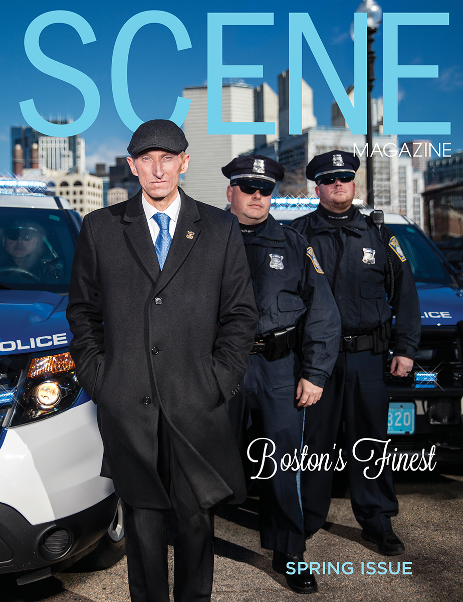 Scene Magazine Spring Cover with Commissioner William Evans