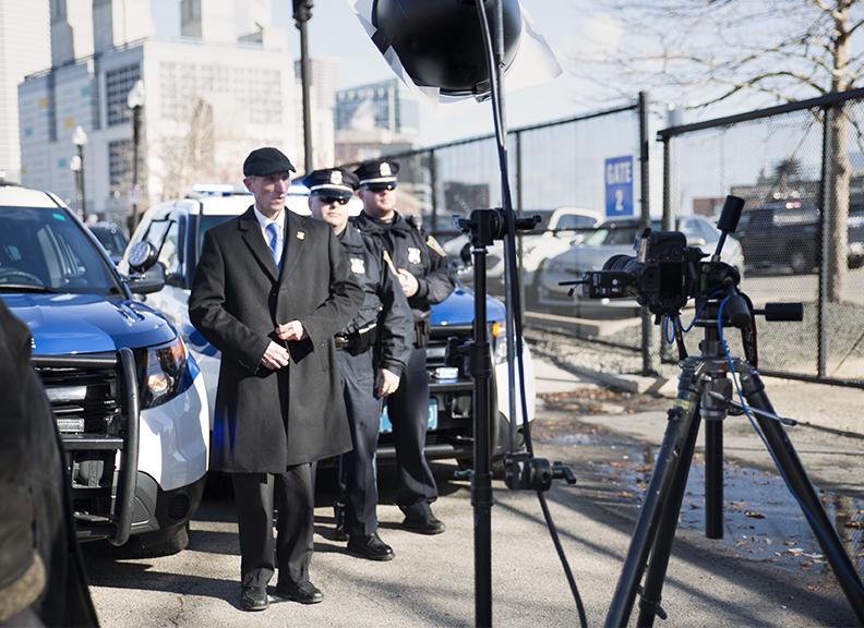 Police Commissioner Bill Evans Photoshoot