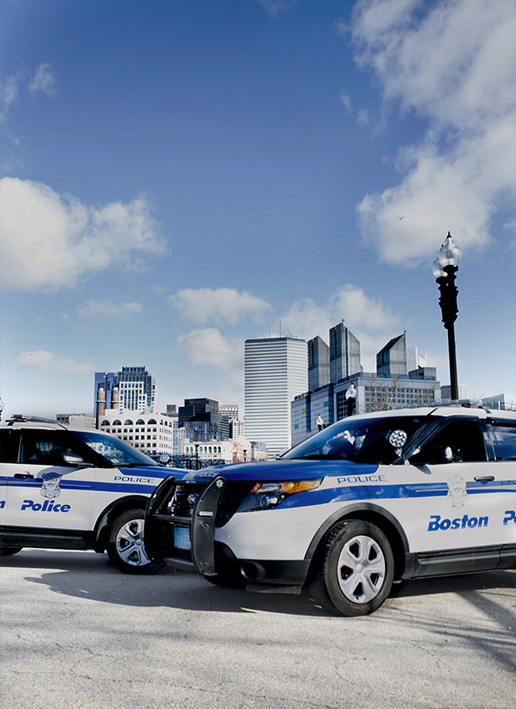 Michael Indresano Photoshoot With South Boston Police