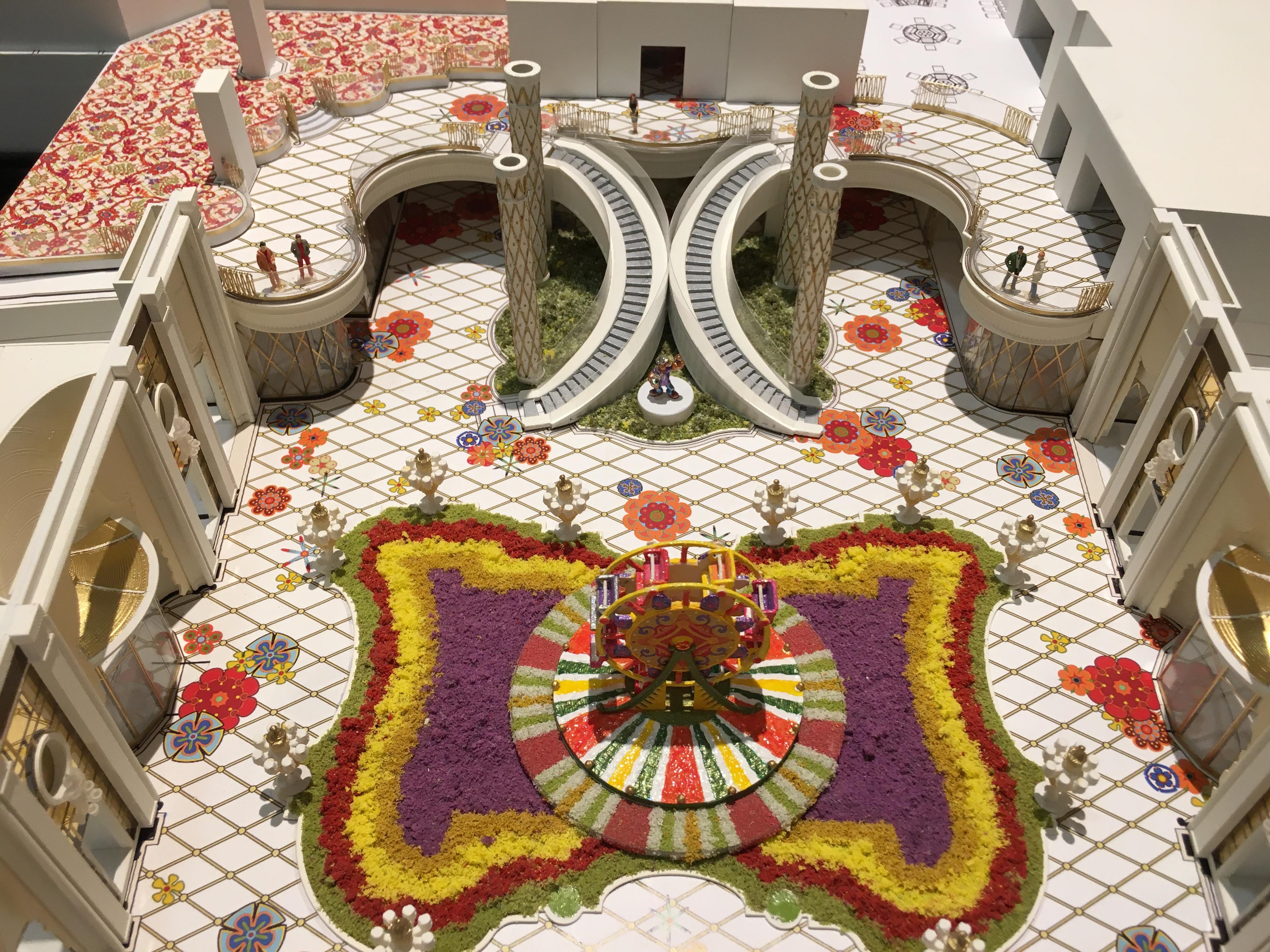 Wynn Casino Interior Model